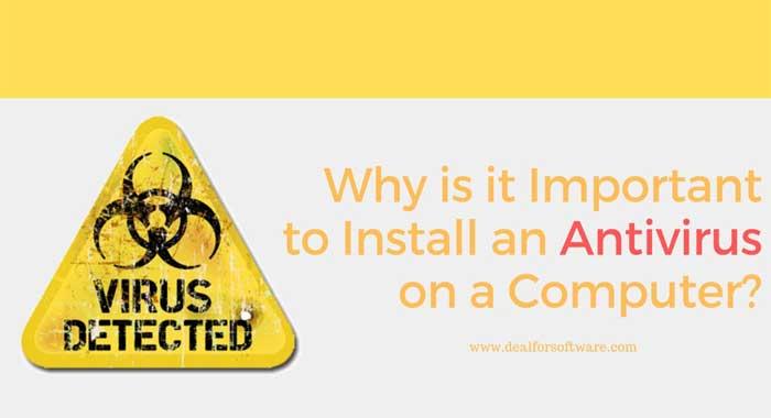 Install Antivirus on a computer