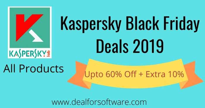Kaspersky Black Friday deals 2019