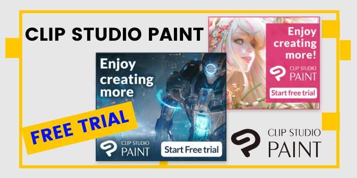 Clip Studio Paint free trial version