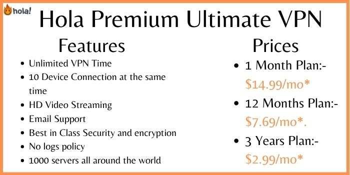 Hola Premium Ultimate VPN