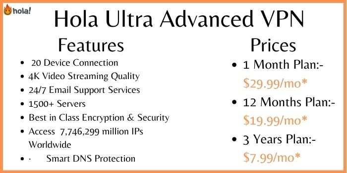 Hola Ultra Advanced VPN