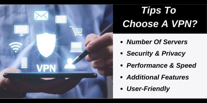 Tips to choose a VPN
