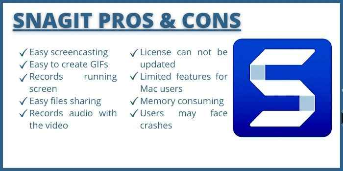 Pros & Cons of Snagit