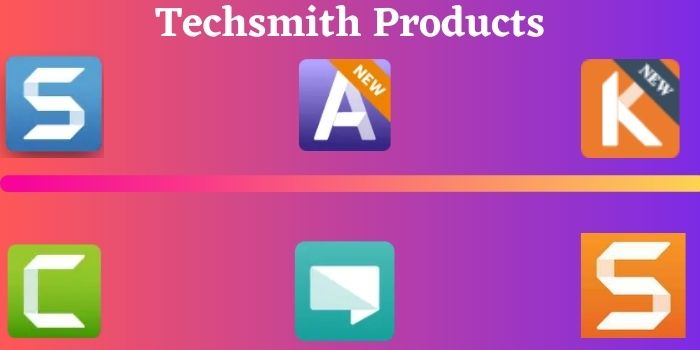 Techsmith Products
