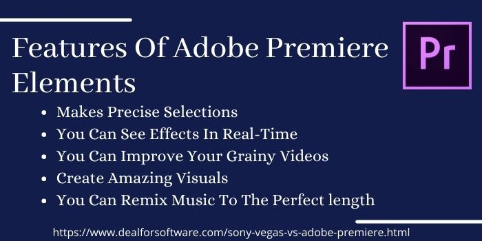 Features Of Adobe Premiere Elements (2)