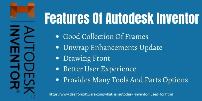 Features Of Autodesk Inventor